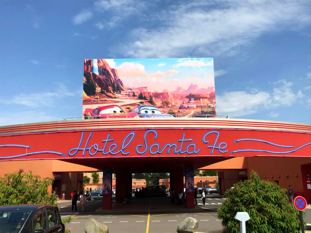 Hotel Santa Fe - Disneyland Paris מלונות בדיסנילנד פריז
