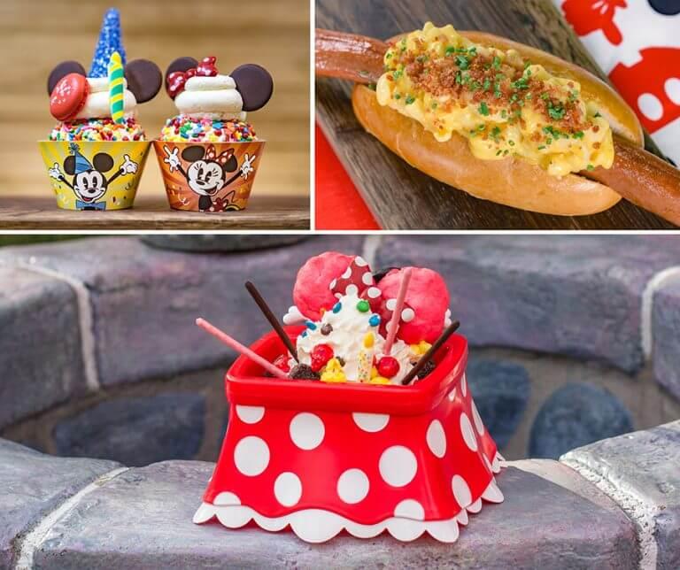 אוכל מיוחד לחגיגת יום ההולדת של מיקי מאוס, דיסנילנד קליפורניה (3)
