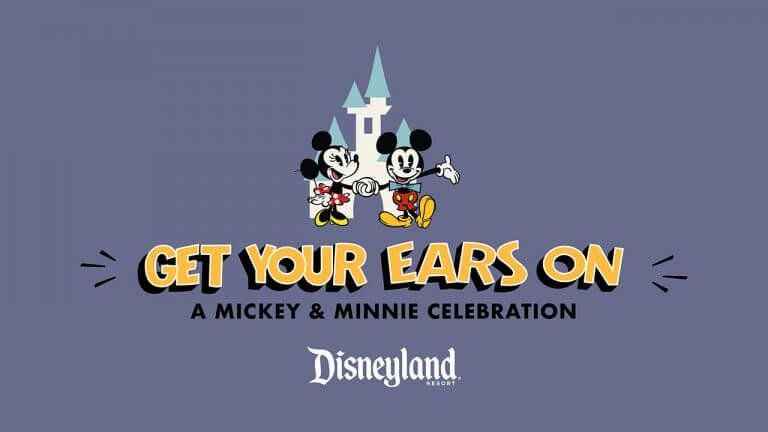 חגיגות 90 למיקי מאוס ומיני - Get Your Ears On דיסנילנד קליפורניה