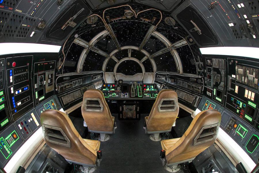 Star Wars: Galaxy's Edge - Millennium Falcon: Smugglers Run מלחמת הכוכבים: קצה הגלקסיה דיסניוורלד דיסנילנד