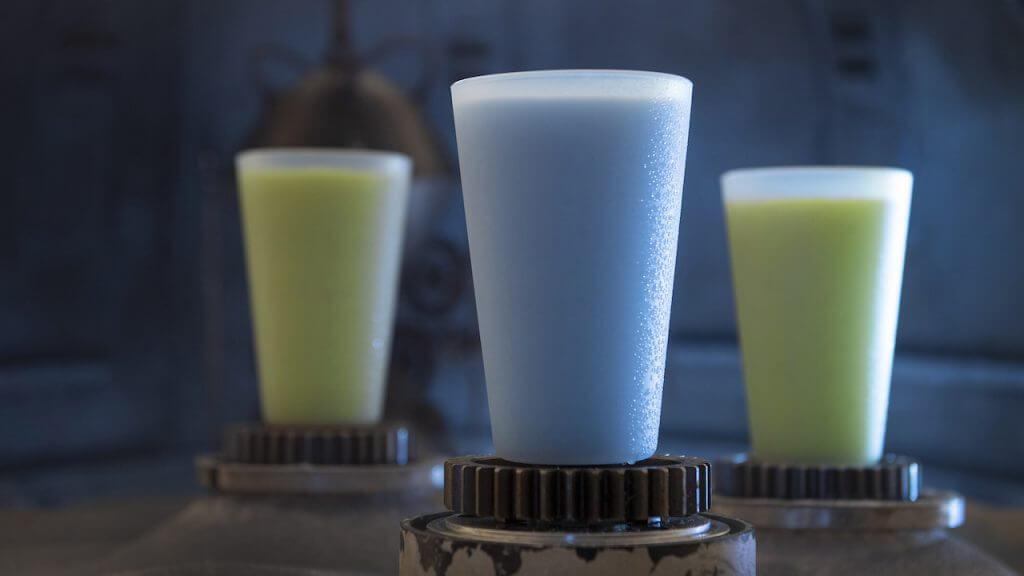 משקאות חלב מלחמת הכוכבים דיסניוורלד דיסנילנד