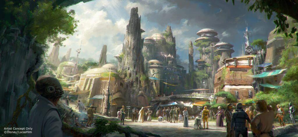 מלחמת הכוכבים: קצה הגלקסיה דיסנילנד דיסניוורלד