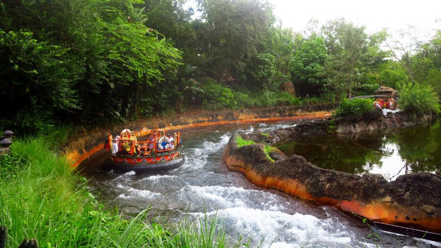 קאלי ריבר ראפידז מתקן מים אנימל קינגדם דיסני וורלד אורלנדו